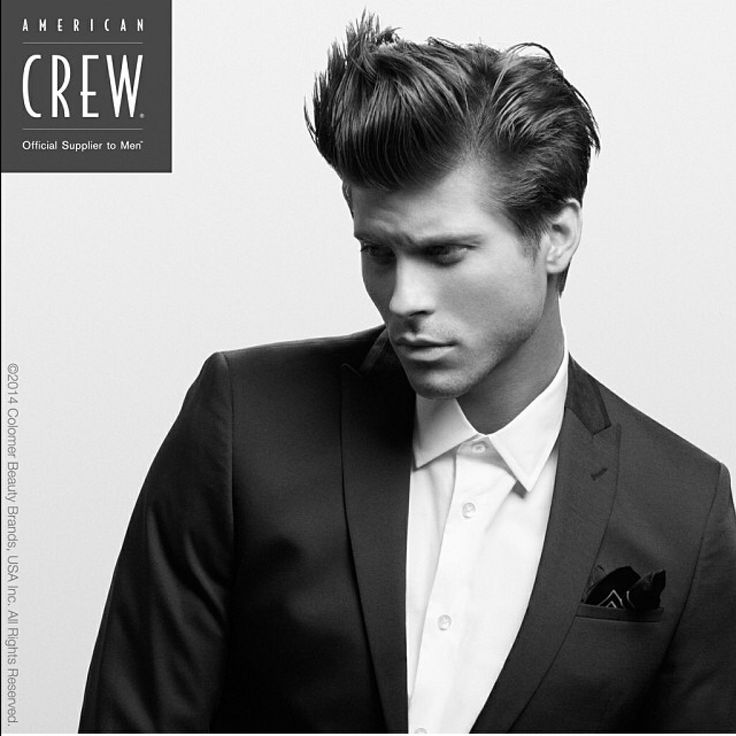 Men's hair style, American Crew Independent 2014.