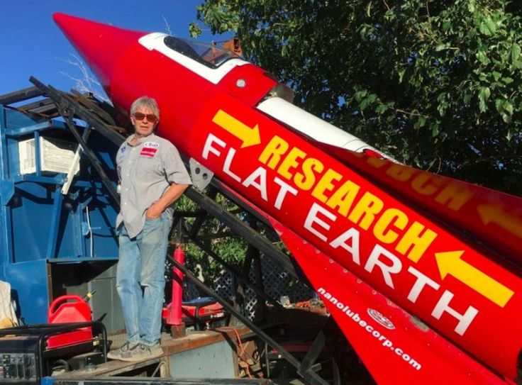 This man is about to launch himself in his homemade rocket to prove the Earth is flat - The Washington Post