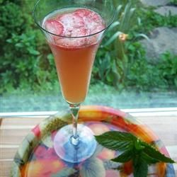 Juicy Fruit Punch with Champagne Allrecipes.com