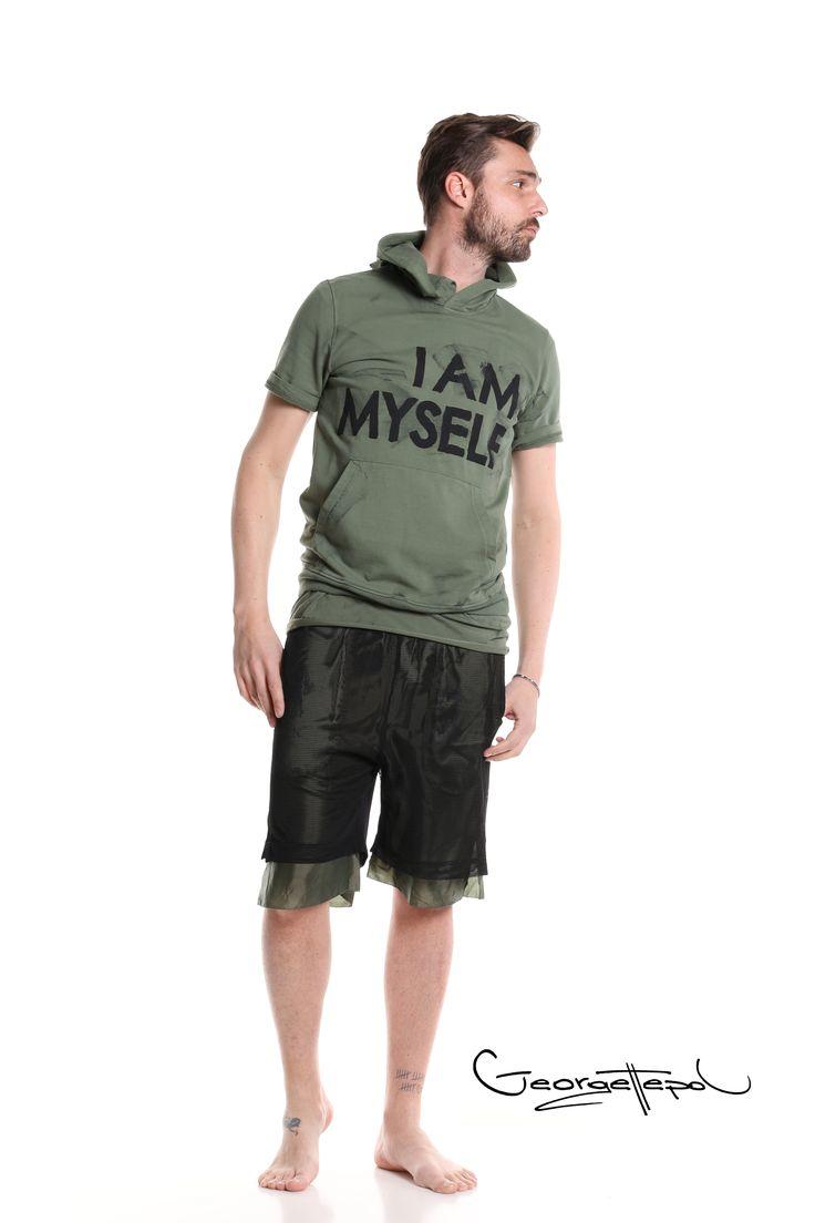 Military hoodie - Bermuda basket black and military #bermuda #basket #fashion #man #painted #summer #basket #hoodie #military #black #style #georgettepol