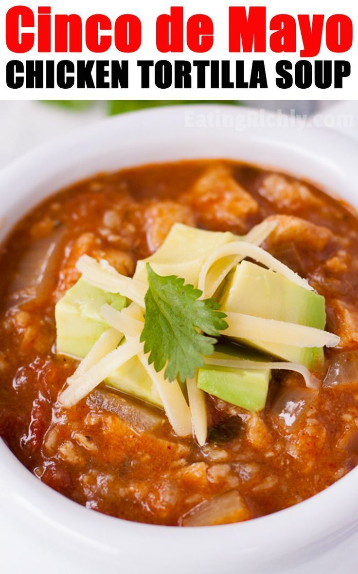 Dinner Recipes Simple Dinner Recipes Jamie Oliver Dinner Recipes You Can Easy Chicken Tortilla Soup Recipe Mexican Dinner Recipes Chicken Tortilla Soup Easy