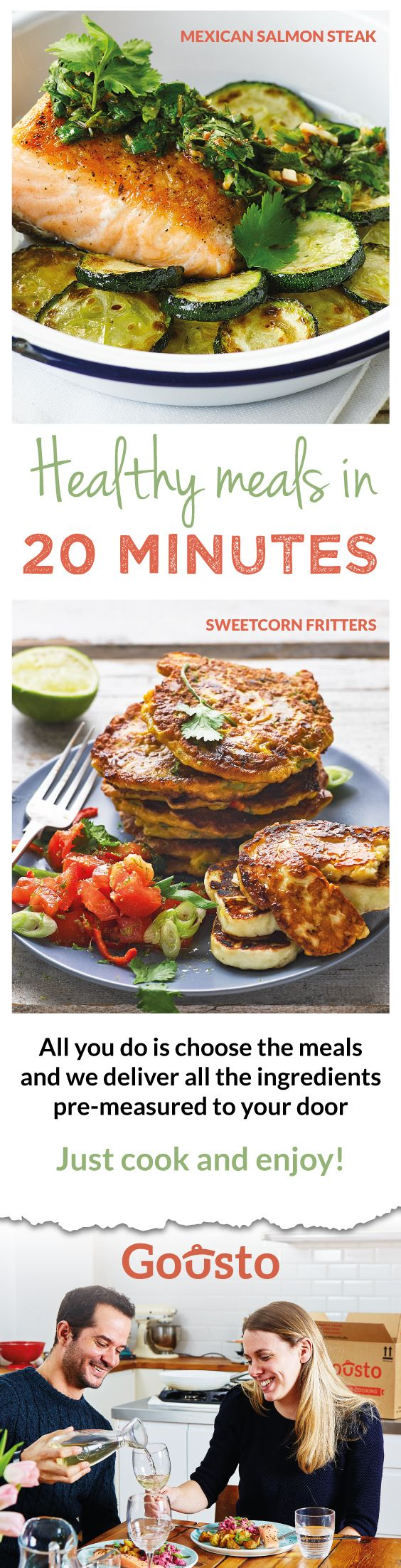 Discover amazing new recipes with perfectly pre-portioned ingredients delivered right to your door with easy to follow recipe cards. All you have to do is cook! To celebrate our launch on Pinterest we're offering £25 Off your first order!