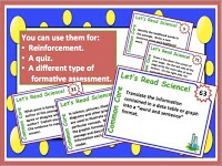 """Blog post from Science stuff:   """"Common Core Science Informational Text Task Cards"""""""