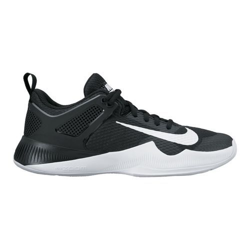 Nike Women's Air Zoom Hyperace Volleyball Shoes (Black/White, Size 6.5) - Women's Volleyball Shoes at Academy Sports