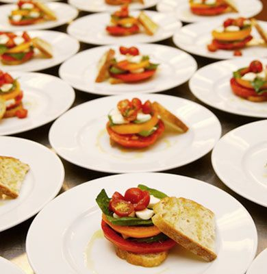 Catering Plated Dinner Menu | Bacchus | The Bartolotta Catering Company & Events