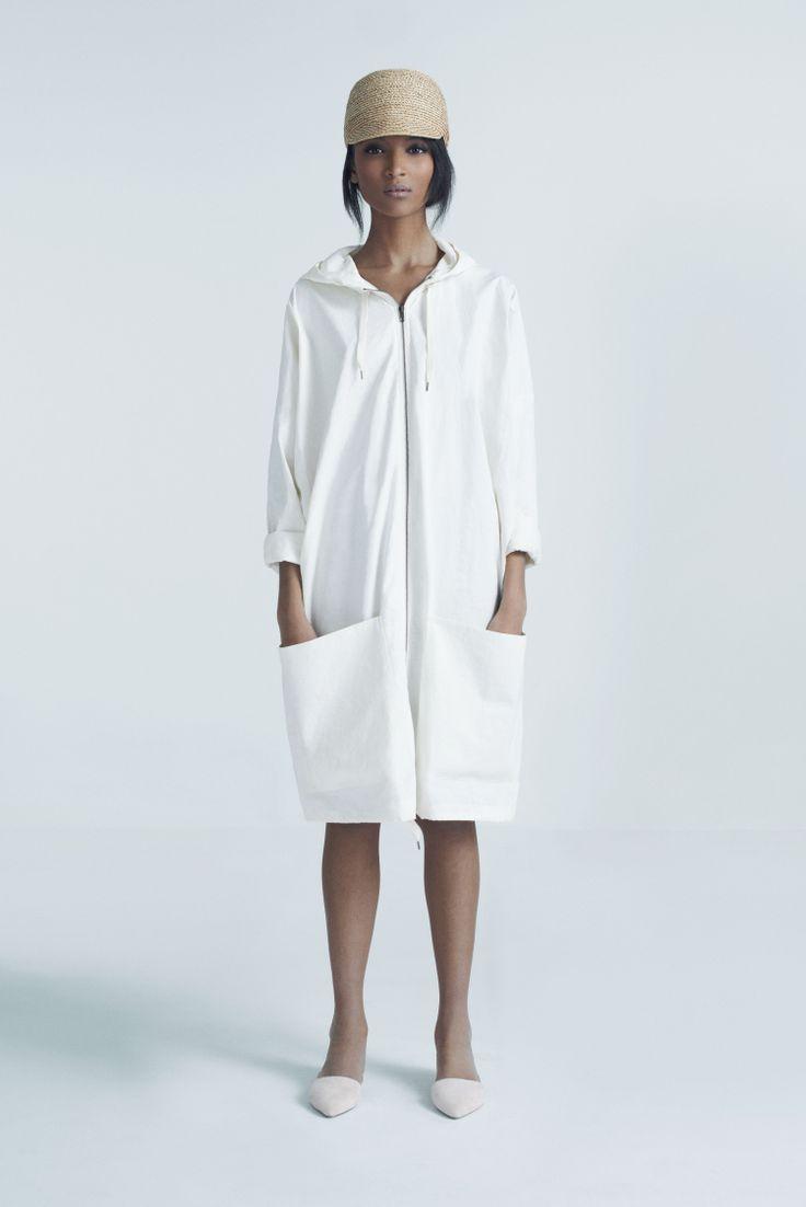 Safa Cap and Sky Coat | Samuji Pre-Fall 2014 Collection