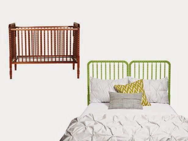 Berço = Cabeceira de cama - *Decoração e Invenção*