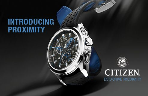 Introducing Proximity, the Perpetual Calendar Chronograph with Bluetooth powered by Citizen Eco-Drive. Perfect for the tech-savvy gent in your life!