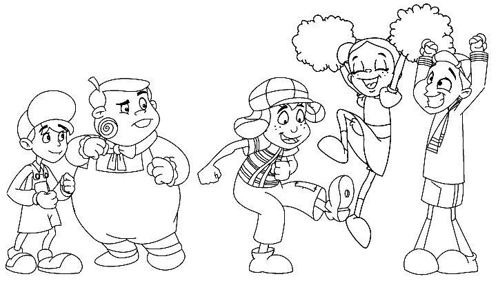 Resultado De Imagen Para El Chavo Dibujo Animado El Chavo