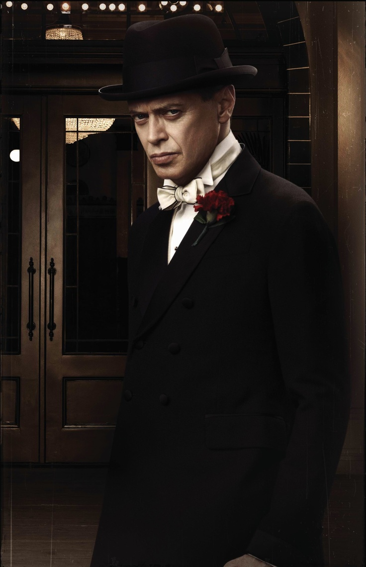 "Steve Buscemi as Enoch ""Nucky"" Thompson 