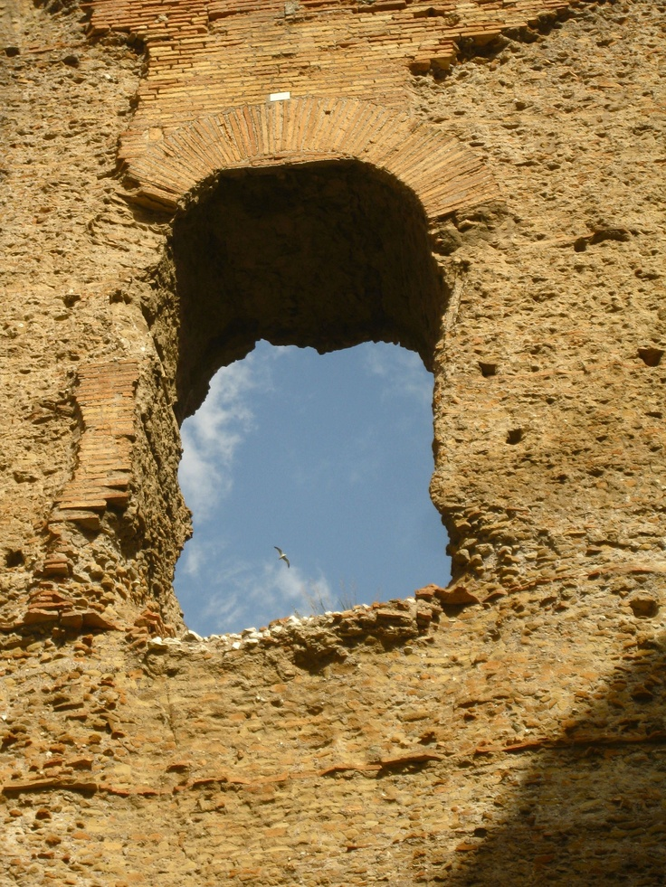 Windows in the Sky.  (Terme di Diocleziano, Rome)