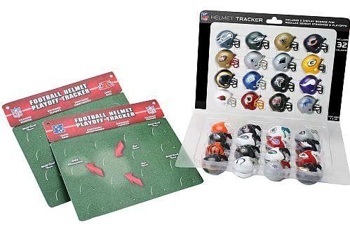 Amazon.com: NFL Pro Football Helmet Playoff Tracker: Sports & Outdoors