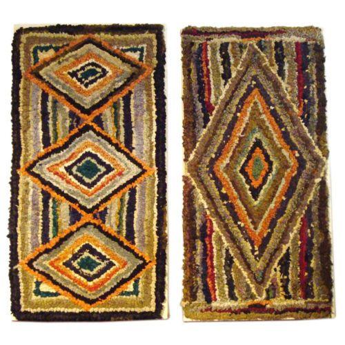 awesome wool hook rugs 1910