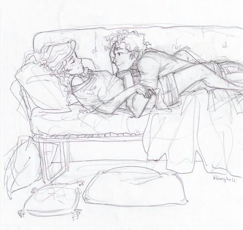''Annabeth and Perseus Jackson''