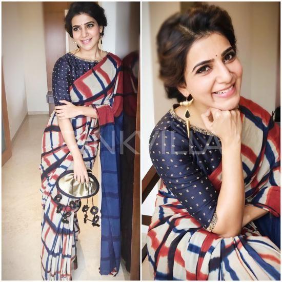 Yay or Nay : Samantha Prabhu in Resha by Medhavini More