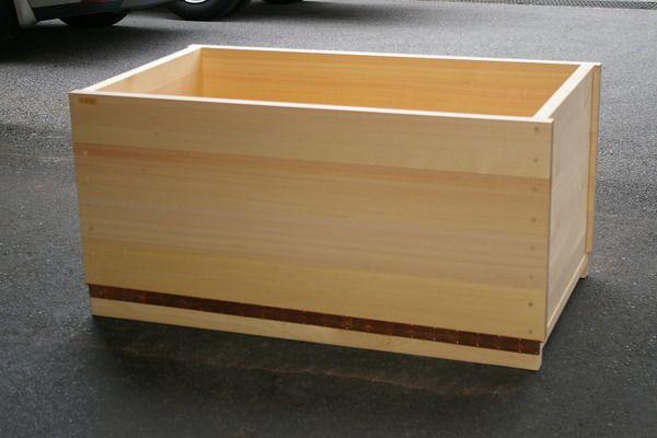 Japanese hinoki wood bath bathroom Pinterest Bath Wooden