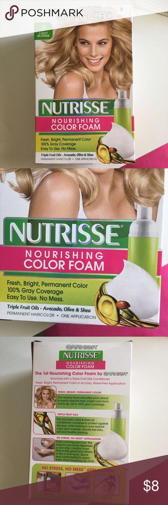 Garnier Blonde Color Foam Hair Dye Brand New. Unboxed. Color 9 Light Blonde Garnier Makeup