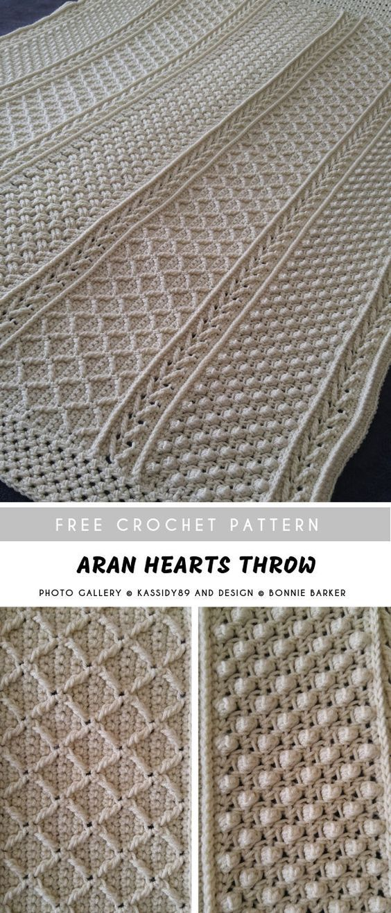35+ Awesome & Easy Afghan Crochet Blanket Patterns