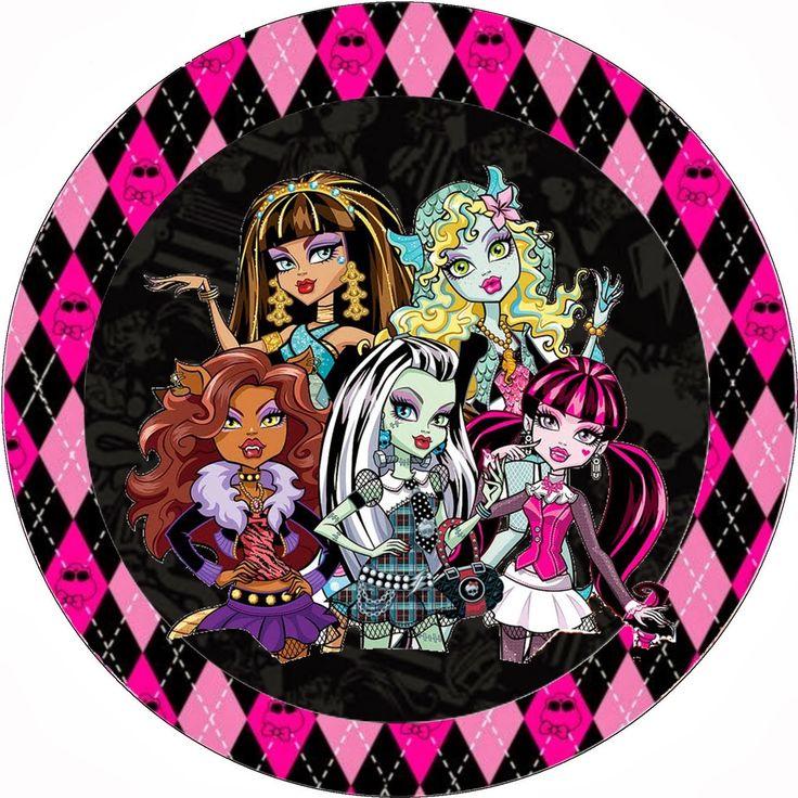 Monster High Halloween Special Free Printable Kit.