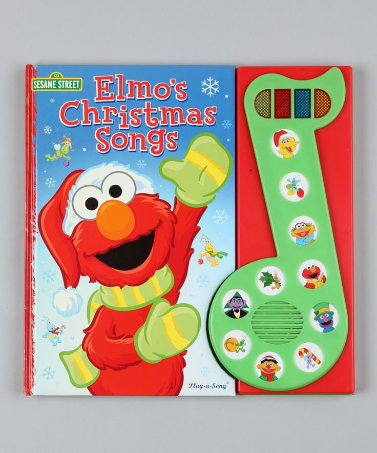 Elmo's Christmas Songs Music Note Hardcover