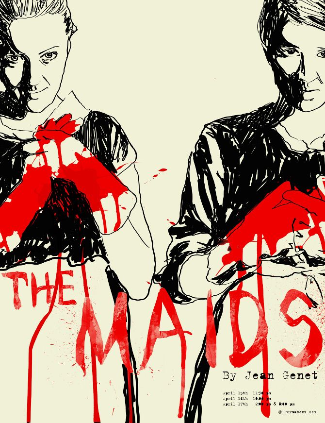 Maids poster by Angie Yeun Son.