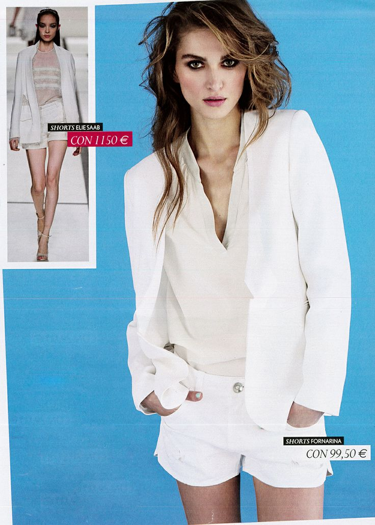 White Blazer Space Style Concept Spring - Summer 2014 Collection on TuStyle