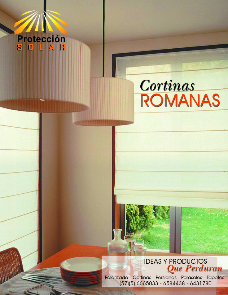 M s de 1000 ideas sobre cortinas romanas en pinterest - Cortinas hechas en casa ...