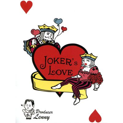 Joker's Love (Himber Included) by Lenny - Three jokers propose to one beautiful female joker. A Romantic joker who attracts her with events A Strong joker who is muscular and charming A Rich joker who is wealthy and competent Who will be chosen by the beautiful get it here: http://www.wizardhq.com/servlet/the-14990/jokers-love-himber-included-by-lenny/Detail?source=pintrest