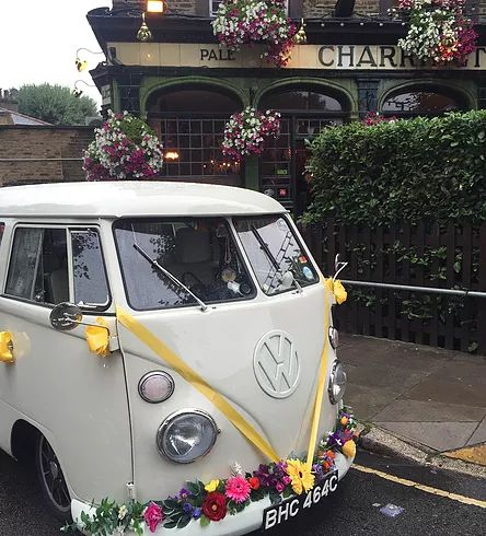 Fancy a different wedding car? Hire our immaculate 1965 VW Split Screen Camper Van for your wedding. In London, Kent, Surrey and Essex.