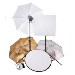 [40019] Studio Bundle - Intermediate Light Kit (2 x 300w Lights)