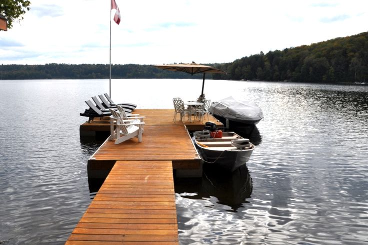 http://www.cottagecountry.com/otter-lake-cottage-rental-605-dorset-on/ Enjoy the Dock at this Ontario Cottage Rental!