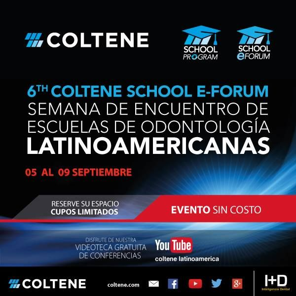 6to Eforum Coltene INSCRIBITE ONLINE!!