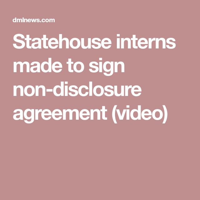 The 25+ best Non disclosure agreement ideas on Pinterest Film - non disclosure agreements