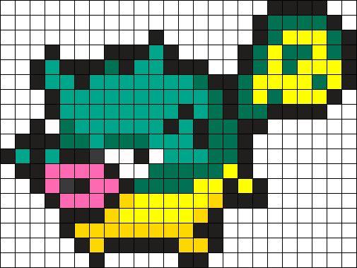Qwilfish Pokemon Bead Pattern Perler Bead Pattern Bead