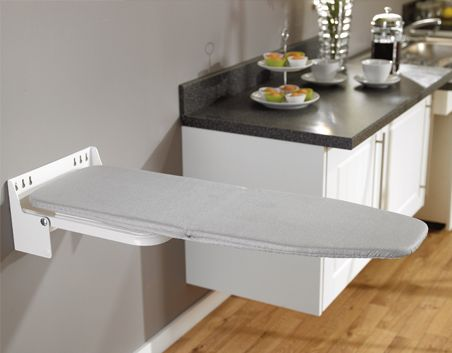 fold out ironing board to fit into cupboard or onto inside. Black Bedroom Furniture Sets. Home Design Ideas