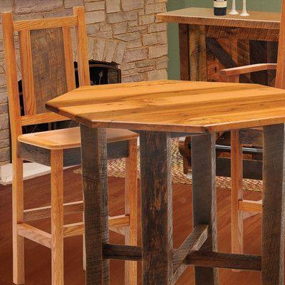 """Fireside Lodge Barnwood 30"""" Bar Stool Upholstery:"""