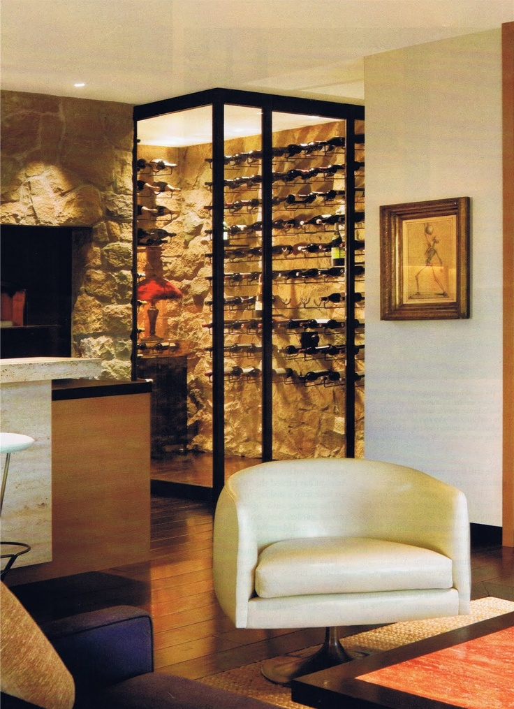 17 best images about wine rooms on pinterest traditional for Walk in wine room
