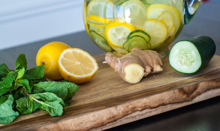 Cleanse The Body of Parasites and Lose Weight with Ginger Infused Lemon Water