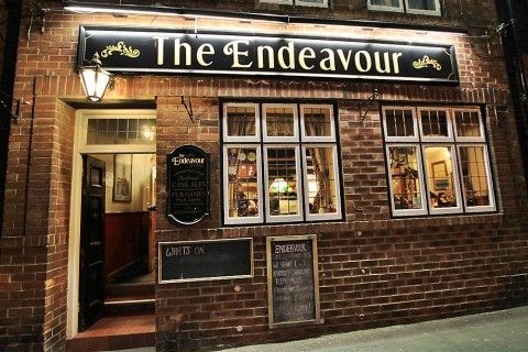 http://www.real-whitby.co.uk/church-street-whitby The Endeavour – A locals pub, very popular with Folkies. Serves really strong cider and the best pork scratchings in the world. Whitby Pubs - Whitby Town Pub Guide - Whitby | Real Whitby | Whitby News | North Yorkshire