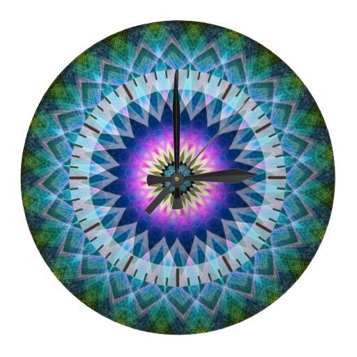 Centre Point Kaleidoscope Wall Clocks