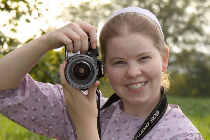 Young Mennonite Photographer. Meet the Mennonites