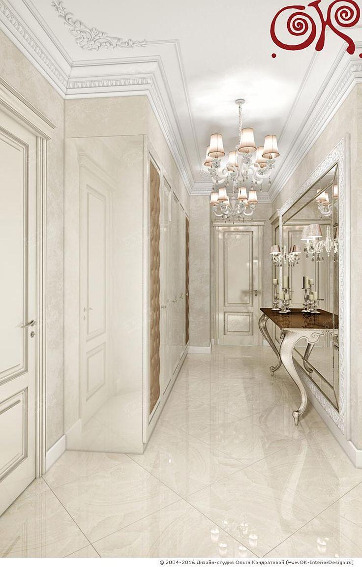 Дизайн холла. Фото 2016 - http://www.ok-interiordesign.ru/ph26_design-interyera-prihozhey.php