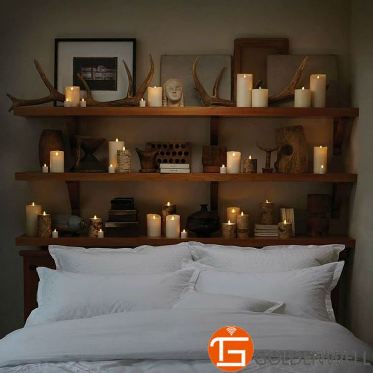 """Exquisite Flameless Candles 2\"""" Set of 6 Elegant Candles for Lovers * Click image for more details."""