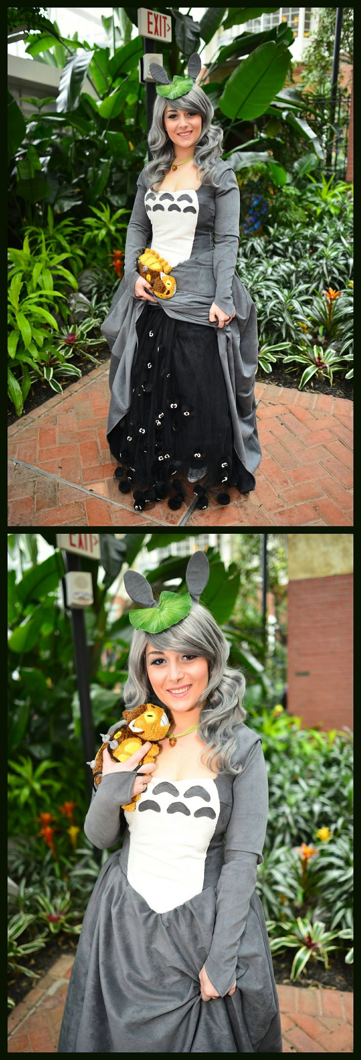 Totoro cosplay by Dustbunny, Photos by Martin Wong #KatsuCon2014