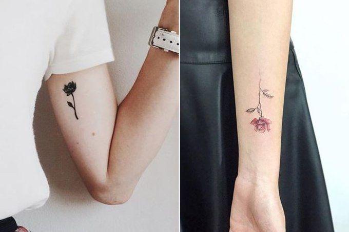 30 tatuagens delicadas de flores para te inspirar