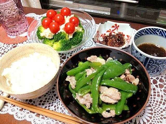 TVで見て作りたくなった生姜の佃煮。これは酒のいいつまみだ… - 9件のもぐもぐ - 塩麹で漬けた豚肉とピーマンの炒め物、ブロッコリーのタルタルソースサラダ、生姜の佃煮 by shizuka10