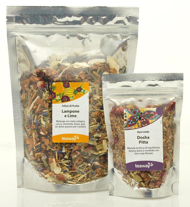 TeaWay: Nuova sezione di Infusi e tisane a base di erbe, frutti e spezie