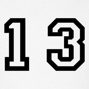 Favorite number is 13