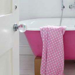 best 25 pink bathtub ideas on pinterest bathroom renovations melbourne in. Black Bedroom Furniture Sets. Home Design Ideas