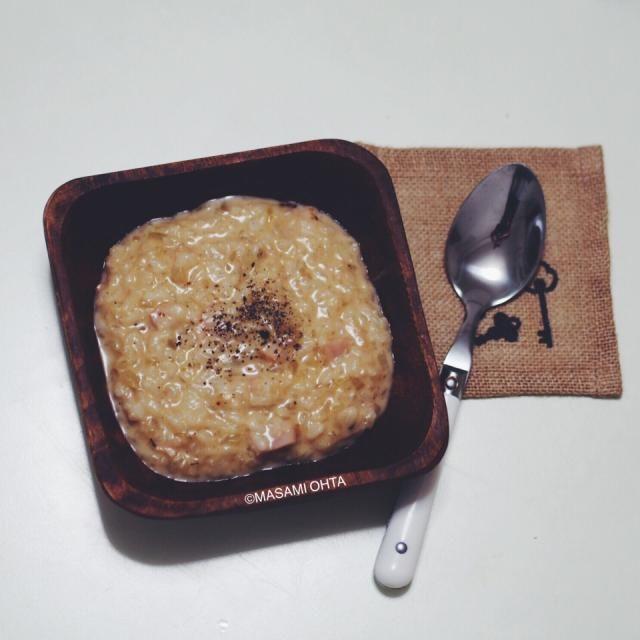 レシピとお料理がひらめくSnapDish - 16件のもぐもぐ - チーズリゾット by 寫眞食堂